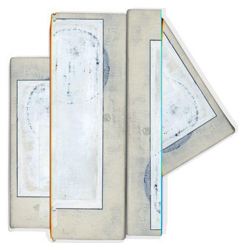 """Jean-Benoit Pouliot Sans titre, 2017 Impression jet d'encre, montée sous plexi, sur alupanel Ink jet print, mounted under plexi, on alupanel 102 x 99 cm (40"""" x 39"""")"""
