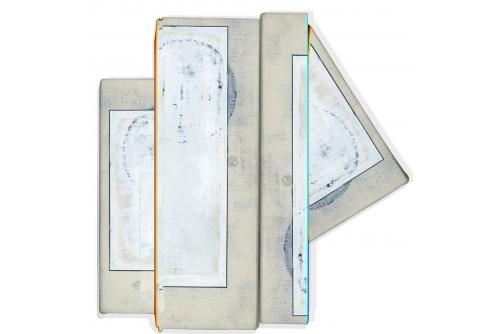 """Jean-Benoit Pouliot, Sans titre, 2017 Ink jet print, mounted under plexi, on alupanel 102 x 99 cm (40"""" x 39"""")"""