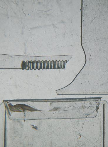 Jean-Benoît Pouliot Sans titre, 2014 Épreuve numérique aux pigments, archive, plexi UV Archival pigment print, plexi UV 51 x 37 cm (20