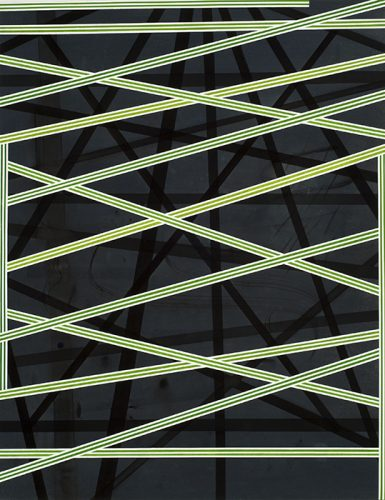 Jean-Benoît Pouliot (série Staccato) b, 2012, acrylique sur toile, acrylic on canvas, 67