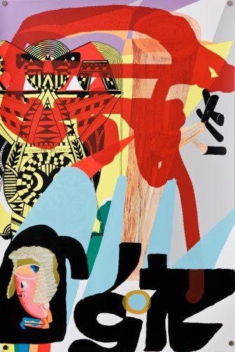 Séripop, Toxic Event, Chemical Cloud, 2011, sérigraphie 22 couleurs, 22 colours screenprint, ed. 55, 23.5