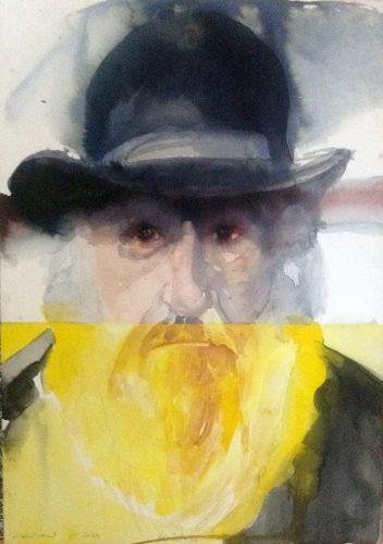 """Trevor Gould Heritage, 2014 Aquarelle Watercolour 51 x 36 cm (20"""" x 14 ¼"""")"""