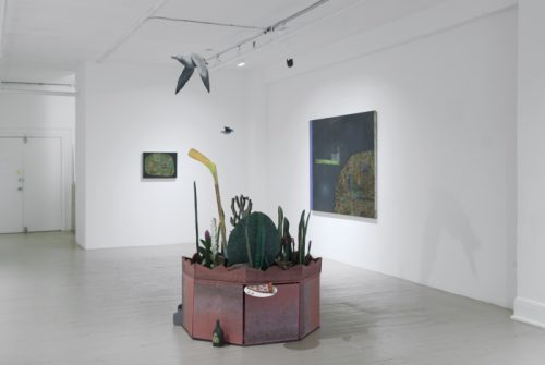 Exposition Gould, Lafrance, Paiement, Galerie Hugues Charbonneau, 2013 (photo : Éliane Excoffier)