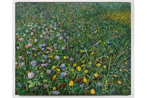 """David Lafrance, Vent, 2021 Huile sur toile 183 x 229 cm (72"""" x 90"""")"""