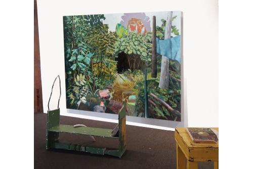 Par la forêt, 2021 Exposition de groupe, Galerie Stewart Hall, Pointe-Claire, Canada [commissaire : Azeman Sabet]