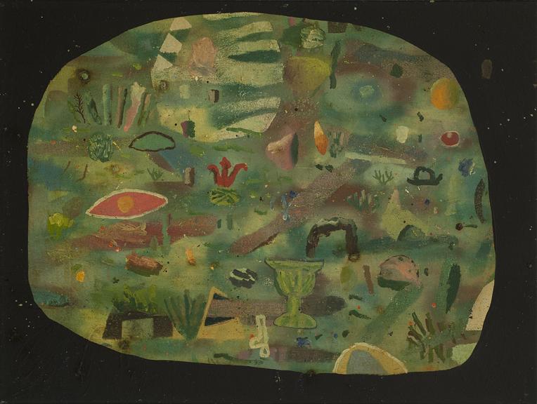 David Lafrance, Pas de voisins, 2013, huile sur toile, oil on canvas, 18