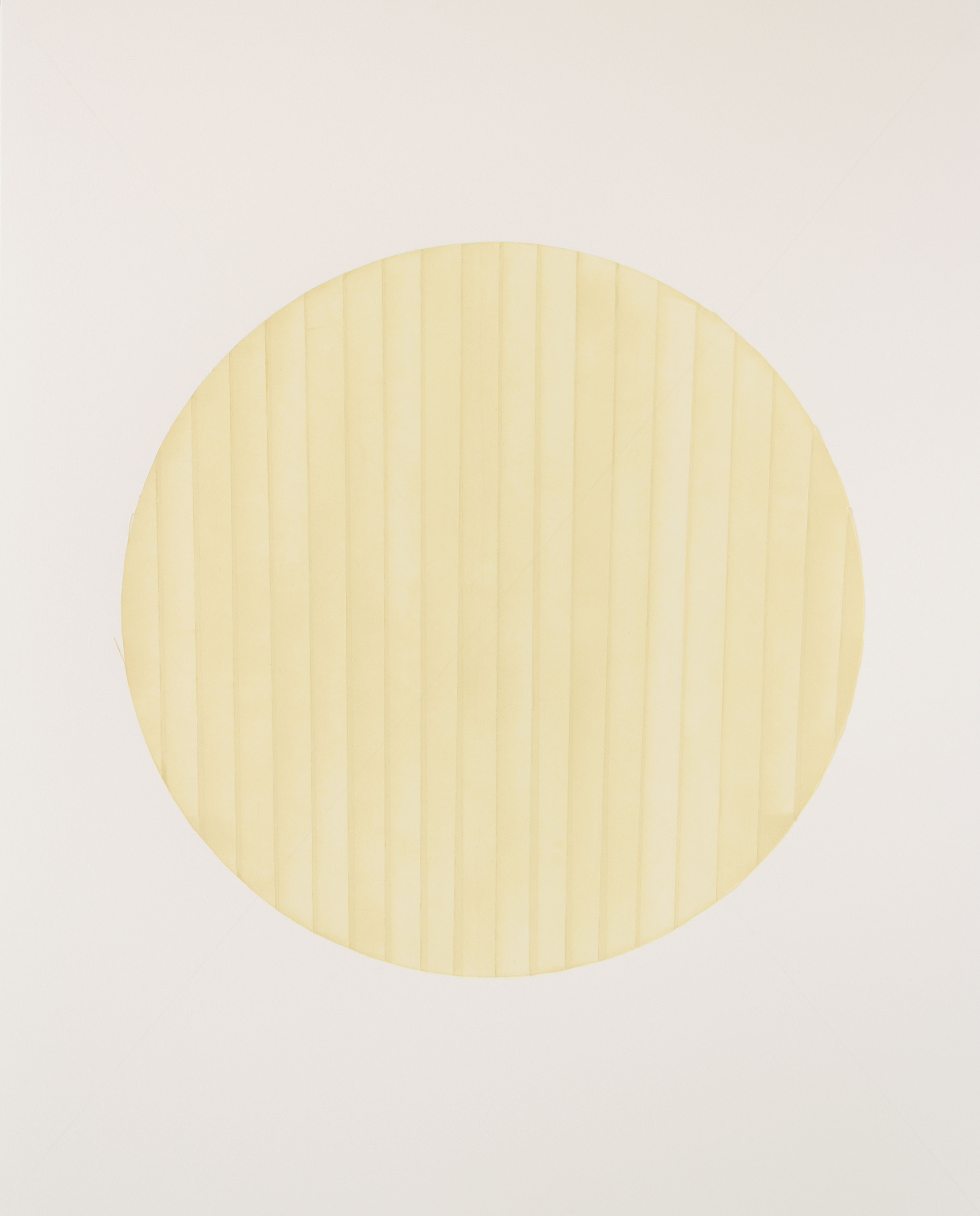 Tammi Campbell, from Circle Tape series (april 2012 B), 2012, acrylique sur carton musée, acrylic on museum board, 38