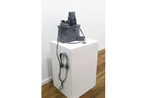 Maria Hupfield, Traveling Bag, 2013