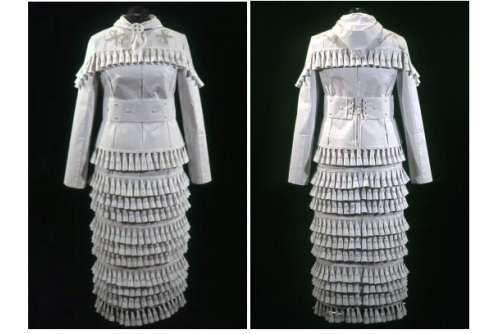 Maria Hupfield, Jingle Dress, 2002 Paper Collection Smithsonian Museums, USA