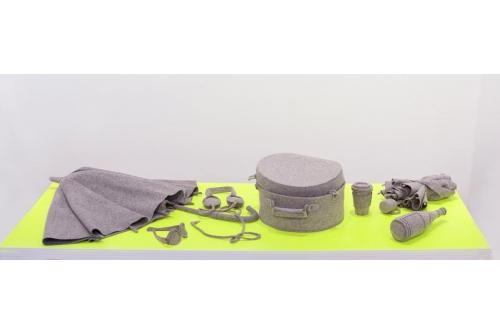Maria Hupfield, Items from 1 of 1, 2013 Industrial felt, tread