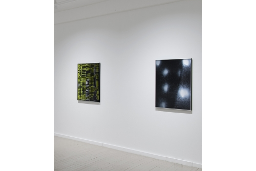 Jonathan Plante, Moonwalk (installation), 2014 Galerie Hugues Charbonneau, Montréal (photo : Éliane Excoffier)