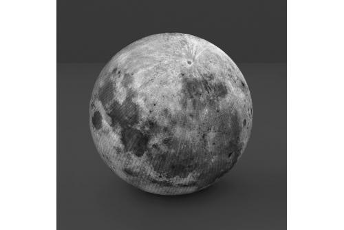 """Alain Paiement, Lune moisie, 2012 Digital pigment print mounted on alupanel Éd. 5 46 x 46 cm (18"""" x 18"""")"""