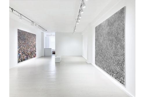 Alain Paiement, Masses / particules, 2019 Galerie Hugues Charbonneau, Montréal, Canada