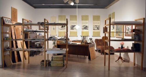 Karen Tam, Flying Cormorant Studio, 2014, Mendel Art Gallery, Saskatoon, Canada