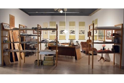 Karen Tam, Flying Cormorant Studio, 2014 Mendel Art Gallery, Saskatoon, Canada
