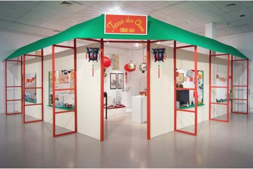 """Karen Tam, Terra dos Chinês Curio Shop, 2012-16 """"SHEEN-WAH-ZREE"""" [exhibition] Musée d'art contemporain des Laurentides, St-Jérôme, Canada"""