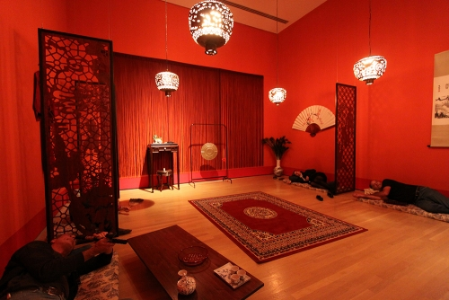 Opium Den, installation, Musée d'art contemporain de Montréal (Montréal, Canada)