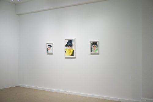 Trevor Gould, installation, Écho 2, 2014, Galerie Hugues Charbonneau, Montréal