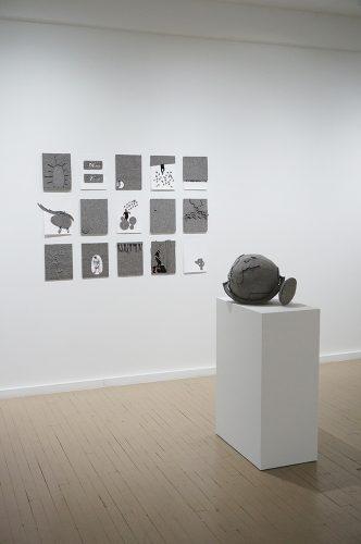 Maria Hupfield, installation, 2014, Écho 2, Galerie Hugues Charbonneau, Montréal