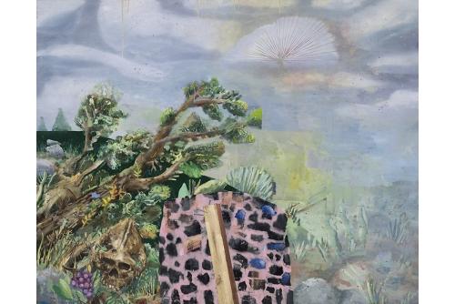 "David Lafrance, Rebutoir, 2014 Oil on Canvas 122 x 152 cm (48"" x 60"")"