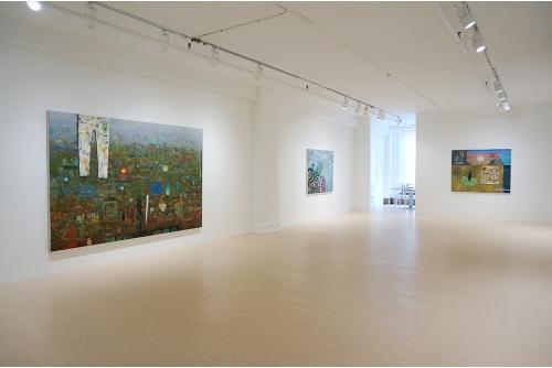 David Lafrance, Été 2014 (solo), 2014 Galerie Hugues Charbonneau, Montréal