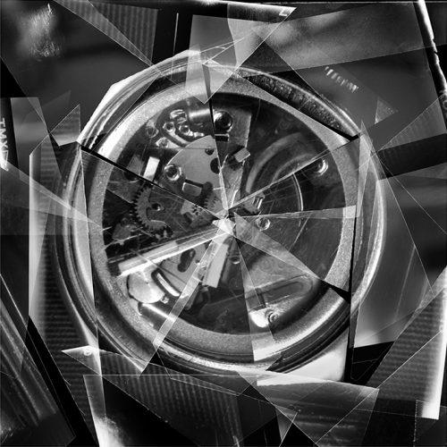 """Alain Paiement Watch, Second, 2015 Impression numérique sur papier archive Digital print on archival paper Éd. 5 75 x 75 cm (29 1/2"""" x 29 1/2"""")"""