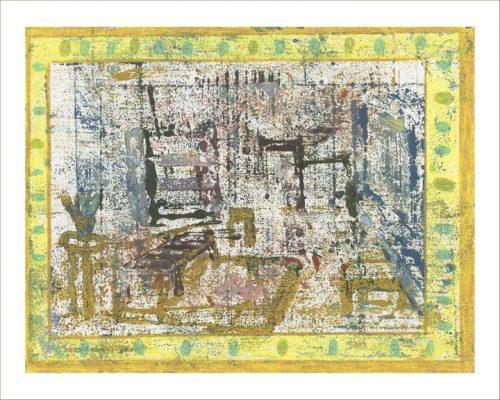 """David Lafrance Tapis contemporain 10, 2015 Impression archive au jet d'encre  Archival inkjet  print Éd. 5  36 x 46 cm (14"""" x 18"""")"""