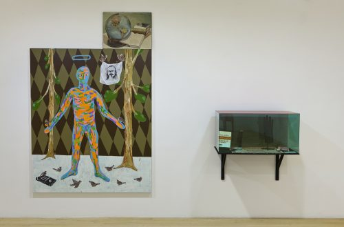 Cynthia Girard-Renard Pierre Vallières + Josée Yvon (installation), 2012 Optica, Montréal