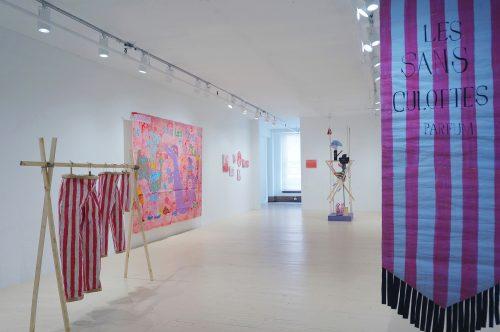 Cynthia Girard-Renard, La revanche des Sans-culottes, 2016, exposition _ exhibition, Galerie Hugues Charbonneau, Montréal