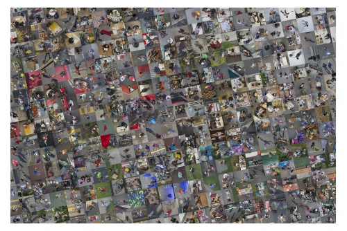 """Alain Paiement, Voisinage contextuel, 2016 Digital print on archival cotton paper Image : 142 x 213 cm (55,9"""" x 83,9"""") Papier_paper : 152 x 223 cm (60"""" x 88"""")"""