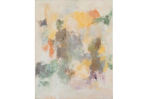"""Jean-Benoit Pouliot, Sans-titre, 2017 Acrylic on canvas 35,5 x 27,9 cm (14"""" x 11"""")"""