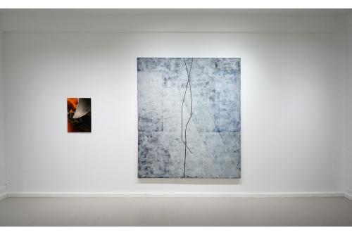 Jean-Benoit Pouliot, L'image souple : Inclinaisons et déclinaisons, 2017 Galerie Hugues Charbonneau, Montréal, Canada