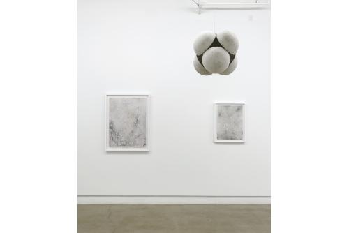 Guillaume Adjutor Provost, Matériellement rien, potentiellement tout [exhibition], 2017 Diagonale, Montréal, Canada (photo : Guy L'Heureux)