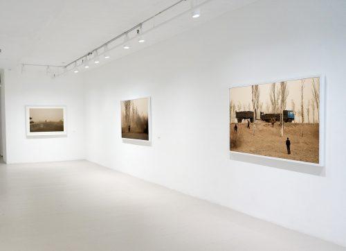 Benoit Aquin, 10e anniversaire du Dust Bowl chinois [exposition_exhibition] 2017, Galerie Hugues Charbonneau, Montréal, Canada