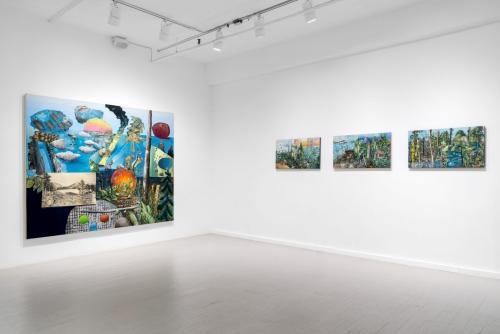 David Lafrance, Jours fastes et néfastes, 2018 Galerie Hugues Charbonneau, Montréal, Canada