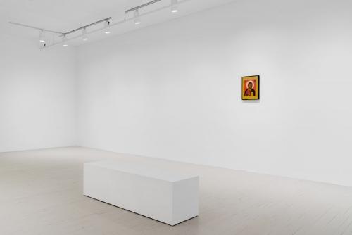 Moridja Kitenge Banza : 1 (exposition_exhibition), 2019 Galerie Hugues Charbonneau, Montréal, Canada (photo : Jean-Michael Seminaro)