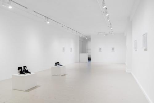 Guillaume Adjutor Provost, Chambre réverbérante, 2019 Exhibition Galerie Hugues Charbonneau, Montréal, Canada (photo : Jean-Michael Seminaro)
