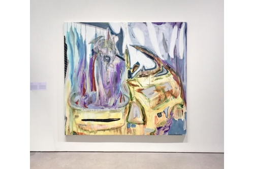 Manuel Mathieu, Over my Black Body (exposition), commissaires : Eunice Bélidor, et Anaïs Castro, Galerie de l'UQÀM,  Montréal, Canada Collection Hydro-Québec