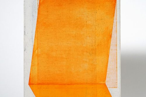 Jean-Benoit Pouliot, Sans titre (#0048), 2018 Acrylic on canvas 20,5 x 15 cm (8″ x 6″)