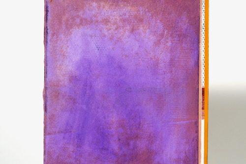 Jean-Benoit Pouliot, Sans titre (#0001), 2019 Acrylic on canvas 20,5 x 15 cm (8″ x 6″)