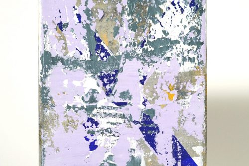 Jean-Benoit Pouliot, Sans titre (#0079), 2017 Acrylic on canvas 20,5 x 15 cm (8″ x 6″) $600 CAD