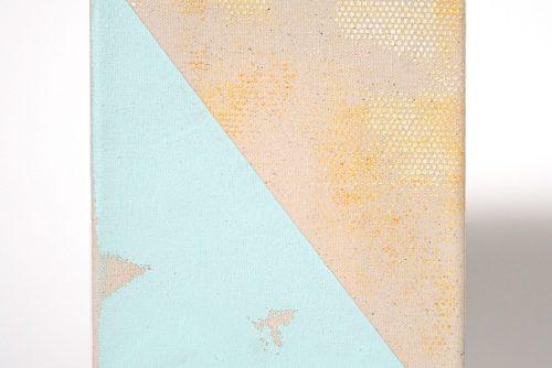 Jean-Benoit Pouliot, Sans titre (#0081), 2016 Acrylic on canvas 20,5 x 15 cm (8″ x 6″) $600 CAD