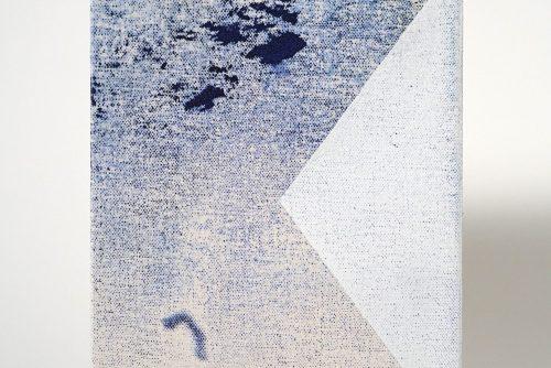 Jean-Benoit Pouliot, Sans titre (#0114), 2016 Acrylic on canvas 20,5 x 15 cm (8″ x 6″) $600 CAD