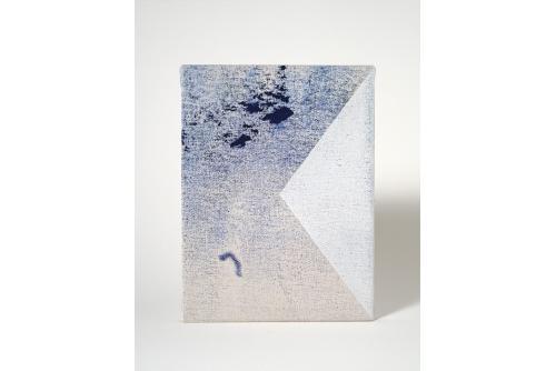 Jean-Benoit Pouliot, Sans titre (#0114), 2016 Acrylic on canvas 20,5 x 15 cm (8″ x 6″)