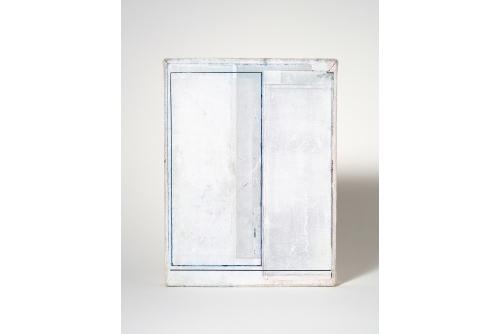 Jean-Benoit Pouliot, Sans titre (#0010), 2019 Acrylic on canvas 20,5 x 15 cm (8″ x 6″) $600 CAD