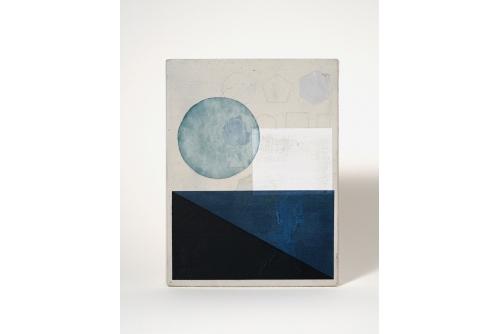 Jean-Benoit Pouliot, Sans titre (#0016), 2019 Acrylic on canvas 20,5 x 15 cm (8″ x 6″) $600 CAD