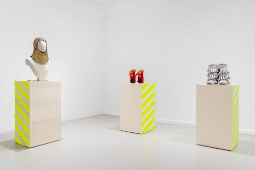 Maria Hupfield, Sorywork, 2021 Galerie Hugues Charbonneau, Montréal, Canada