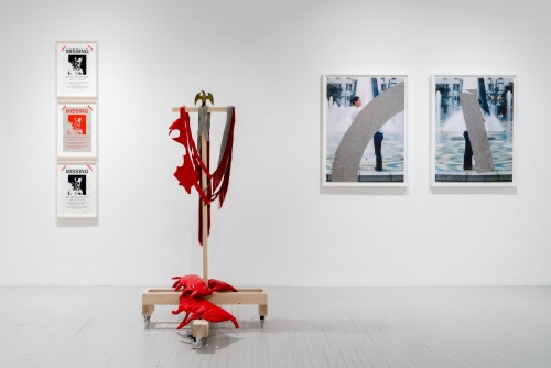 (Français) Maria Hupfield, Sorywork, 2021 Galerie Hugues Charbonneau, Montréal, Canada