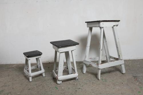 """David Lafrance, La grandeur de l'aide, 2021 Wood and acrylic 121,9 x 228,6 x 58,4 cm (48"""" x 90"""" x 23"""")"""
